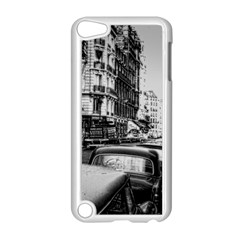 Vintage Paris Street Apple Ipod Touch 5 Case (white)