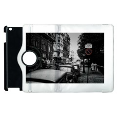 Vintage Paris Street Apple iPad 2 Flip 360 Case