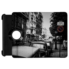 Vintage Paris Street Kindle Fire Hd Flip 360 Case