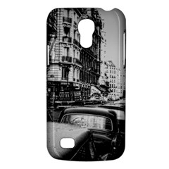 Vintage Paris Street Samsung Galaxy S4 Mini (gt I9190) Hardshell Case