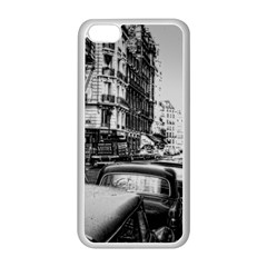 Vintage Paris Street Apple Iphone 5c Seamless Case (white)
