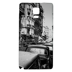 Vintage Paris Street Samsung Note 4 Hardshell Back Case