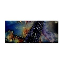 Vintage Eiffel Tower Abstract Hand Towel