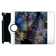 Vintage Eiffel Tower Abstract Apple iPad 2 Flip 360 Case