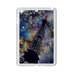 Vintage Eiffel Tower Abstract Apple iPad Mini 2 Case (White)