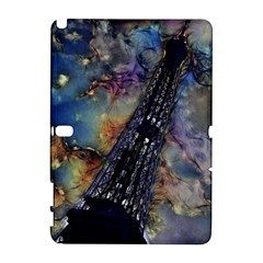 Vintage Eiffel Tower Abstract Samsung Galaxy Note 10 1 (p600) Hardshell Case