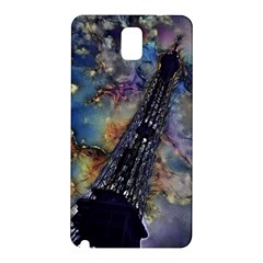 Vintage Eiffel Tower Abstract Samsung Galaxy Note 3 N9005 Hardshell Back Case