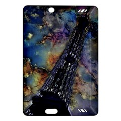 Vintage Eiffel Tower Abstract Kindle Fire HD (2013) Hardshell Case