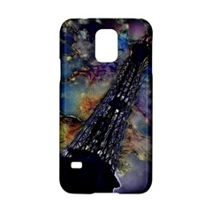 Vintage Eiffel Tower Abstract Samsung Galaxy S5 Hardshell Case
