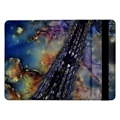 Vintage Eiffel Tower Abstract Samsung Galaxy Tab Pro 12 2  Flip Case