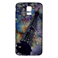 Vintage Eiffel Tower Abstract Samsung Galaxy S5 Back Case (white)