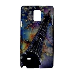 Vintage Eiffel Tower Abstract Samsung Galaxy Note 4 Hardshell Case