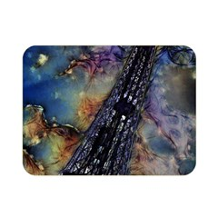 Vintage Eiffel Tower Abstract Double Sided Flano Blanket (Mini)