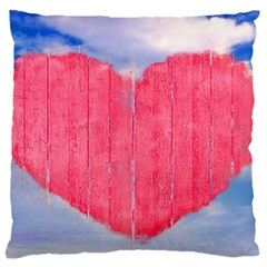 Pop Art Style Love Concept Large Cushion Case (single Sided)