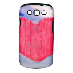 Pop Art Style Love Concept Samsung Galaxy S III Classic Hardshell Case (PC+Silicone)