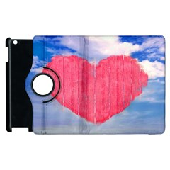 Pop Art Style Love Concept Apple iPad 3/4 Flip 360 Case