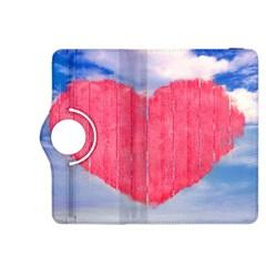 Pop Art Style Love Concept Kindle Fire HDX 8.9  Flip 360 Case