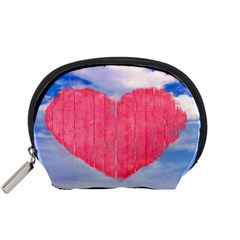 Pop Art Style Love Concept Accessory Pouch (Small)