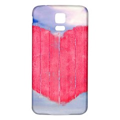 Pop Art Style Love Concept Samsung Galaxy S5 Back Case (white)