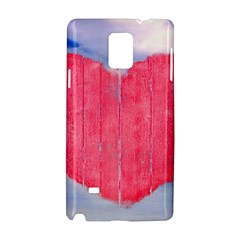 Pop Art Style Love Concept Samsung Galaxy Note 4 Hardshell Case