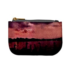 7 Geese At Sunset Coin Change Purse