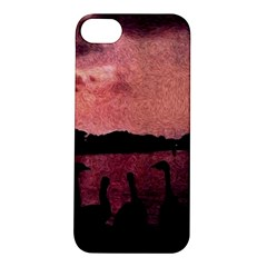 7 Geese At Sunset Apple Iphone 5s Hardshell Case