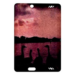 7 Geese At Sunset Kindle Fire HD (2013) Hardshell Case