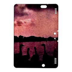 7 Geese At Sunset Kindle Fire HDX 8.9  Hardshell Case