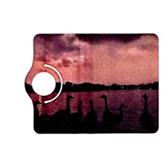 7 Geese At Sunset Kindle Fire Hd (2013) Flip 360 Case