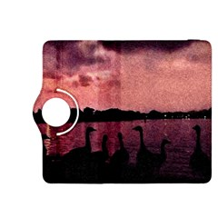 7 Geese At Sunset Kindle Fire HDX 8.9  Flip 360 Case