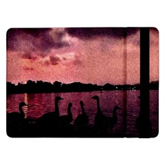 7 Geese At Sunset Samsung Galaxy Tab Pro 12 2  Flip Case