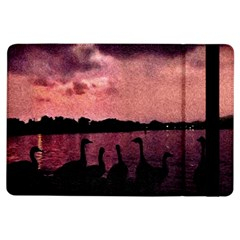7 Geese At Sunset Apple iPad Air Flip Case