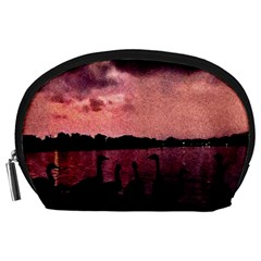 7 Geese At Sunset Accessory Pouch (Large)