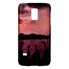 7 Geese At Sunset Samsung Galaxy S5 Mini Hardshell Case
