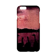 7 Geese At Sunset Apple Iphone 6 Hardshell Case