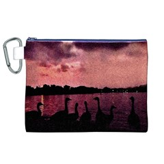 7 Geese At Sunset Canvas Cosmetic Bag (XL)