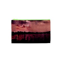 7 Geese At Sunset Cosmetic Bag (XS)