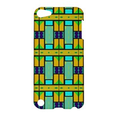Different Shapes Pattern Apple Ipod Touch 5 Hardshell Case