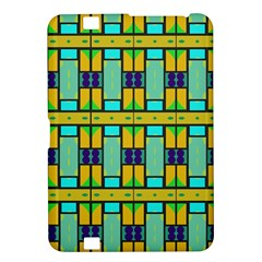 Different Shapes Pattern Kindle Fire Hd 8 9  Hardshell Case