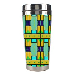 Different shapes pattern Stainless Steel Travel Tumbler