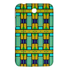 Different Shapes Pattern Samsung Galaxy Tab 3 (7 ) P3200 Hardshell Case