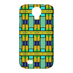 Different Shapes Pattern Samsung Galaxy S4 Classic Hardshell Case (pc+silicone)