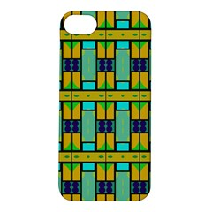Different shapes pattern Apple iPhone 5S Hardshell Case