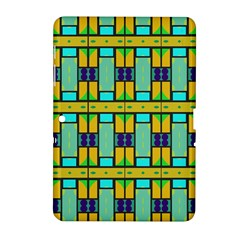 Different Shapes Pattern Samsung Galaxy Tab 2 (10 1 ) P5100 Hardshell Case