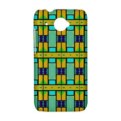 Different shapes pattern HTC Desire 601 Hardshell Case