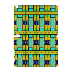 Different shapes pattern Samsung Galaxy Note 10.1 (P600) Hardshell Case