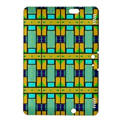 Different shapes pattern Kindle Fire HDX 8.9  Hardshell Case