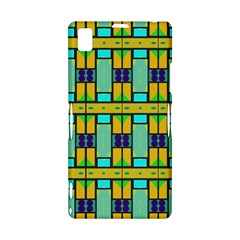 Different shapes pattern Sony Xperia Z1 L39H Hardshell Case
