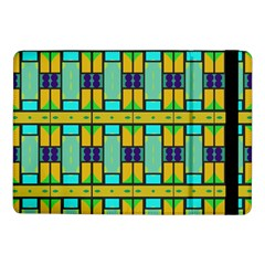 Different Shapes Pattern Samsung Galaxy Tab Pro 10 1  Flip Case