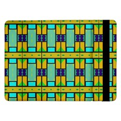 Different shapes pattern Samsung Galaxy Tab Pro 12.2  Flip Case